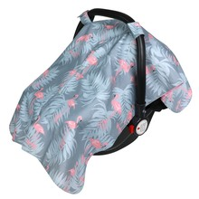 Baby Car Seat Cover, Unisex Extra Large Lightweight and Breathable Canopy, Fits Standard Newborn Carseats, Protecting Infants and Toddlers
