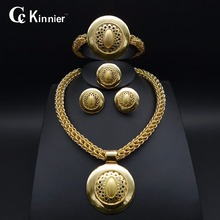 HOT High quality jewelry sets Nigerian Wedding African Beads 18K gold plating Dubai Plated Fashion Wedding Necklace Jewelry set 2015 new fashion dubai gold plated jewelry set africa nigeria s wedding beads jewelry plating 18 k retro design