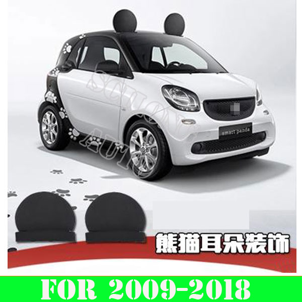 Sikali Skl Car Accessories Exterior Decoration Eva Roof Decorative Ears Adorable Stickers Fit For Smart Fortwo Forfour 451 453 In From