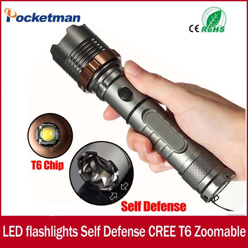 3800lm CREE XM L T6 5modes LED Tactical Flashlight Torch Waterproof Hunting Flash Light Lantern zaklamp