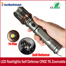 3800lm CREE XM-L T6 5modes LED Tactical Flashlight Torch Waterproof Hunting Flash Light Lantern zaklamp taschenlampe torcia zk93