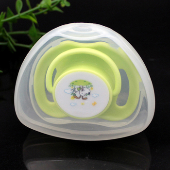 Infant Newborn Baby Pacifier Case Box Nipple Shield Case Pacifier Holder Portable Dustproof Pacifier Storage Box