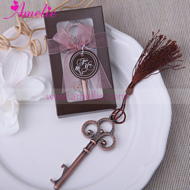 Free Shipping 20pcslot Key To My Heart Bottle Opener Wedding Favor