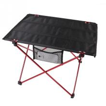 1 PC Portable Aluminum Roll Up Folding Table Outdoor Camping Picnic Table Ultra-light