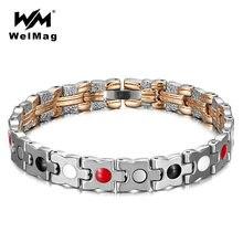 Элегантный женский браслет welmag женские магнитные браслеты
