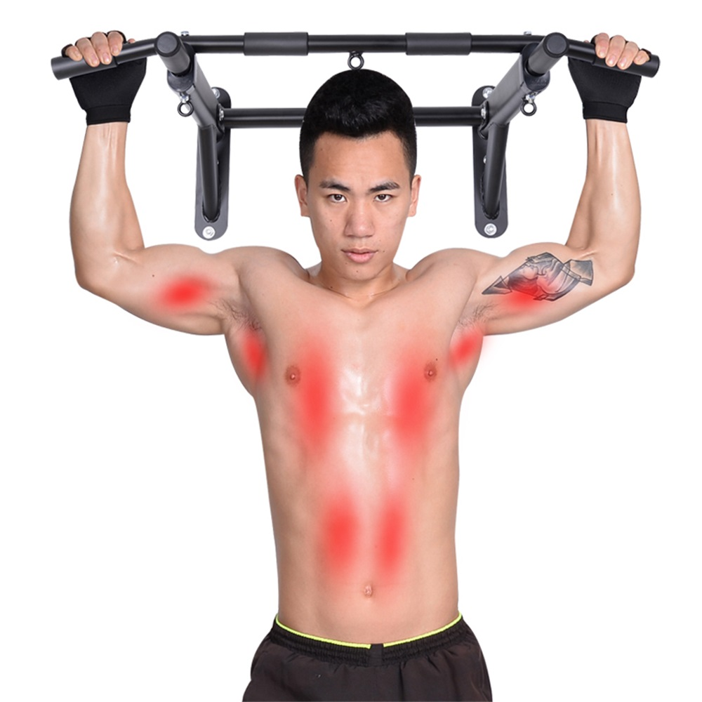 Simple Wall home Upper Body Workout Horizontal Bar Interior Doors Fitness Equipment O2K0004