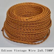 /10 tejido oro Cable
