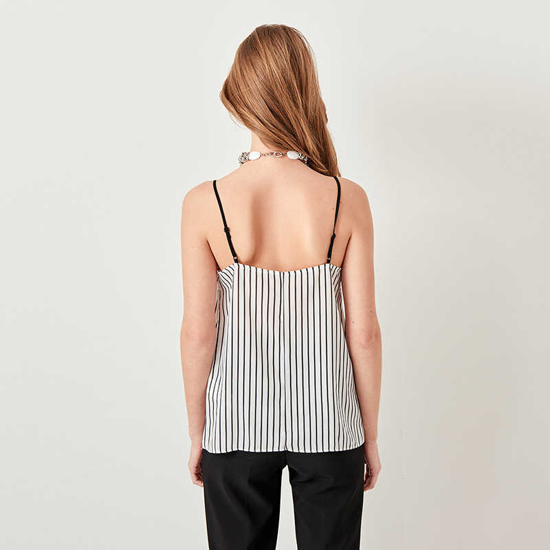 Lace Striped Womens Vest Crop Top 2019 Summer Sexy Sleeveless Strap Womens Blouse T shirt Elegant Camisole Tank Top Female Tee