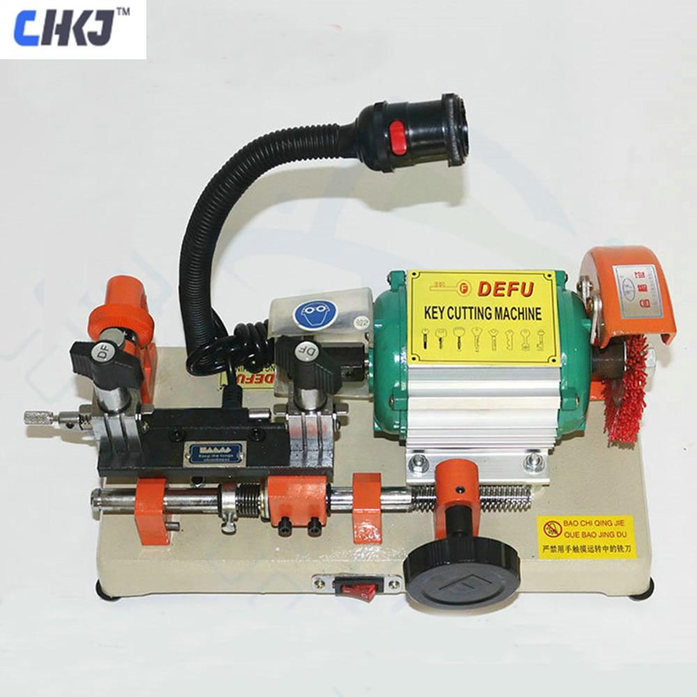 CHKJ DEFU 2AS Key Cutting Machine Horizontal Key Cutter 220V Key Duplicating Machine For Making Key Locksmith Tools