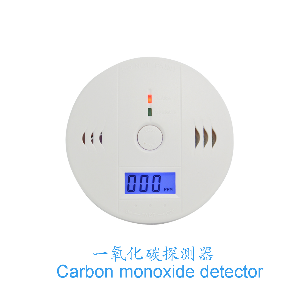 (1 PCS) LCD Display CO Carbon Monoxide Poisoning Sensor Monitor Portable and Compact Alarm Detector Home Security Stand Alone b101xt01 1 m101nwn8 lcd displays