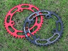 Deckas roda dentada 104bcd 40/42/44/46/48/50/52 t, bicicleta de montanha, mtb pedal de alumínio para pedal