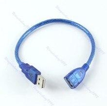 Yeni kısa USB 2.0 A dişi bir erkek uzatma kablo kordonu