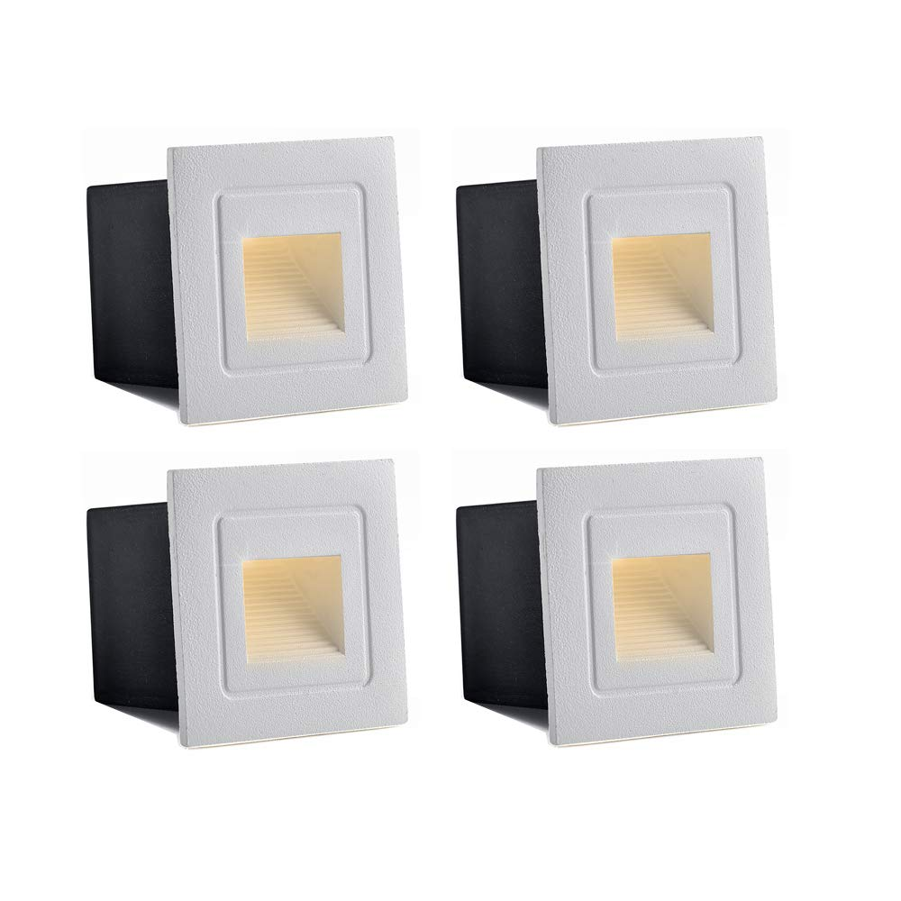 Lights & Lighting Waterproof Corner/deck/recessed Step Lights 3w /5w 85-220v Led Stairs Step Night Light Indoor/outdoor Wall Lighting 58mm/85mm Numerous In Variety