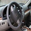 PU Tamanho M Cobertura de Volante de Carro Auto 38 cm Anti-slip Capa Protetora Carro Com Alta Qualidade lzh