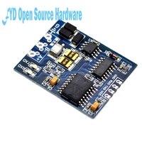 TTL auf RS485 Modul RS485 Signal Konverter 3 V 5,5 V Isoliert Einzigen Chip Serielle schnittstelle UART Industriequalität Modul