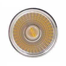 Сверхъяркий Регулируемый GU10 MR16 GU5.3 кри удар 5 W светодиодный лампа AC85-265V/DC12V прожектор теплый белый/холодный белый светодиодный светильник