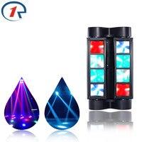 ZjRight 45W Full Color Moving Head Beam Effect Lights 8 LED DMX Stage Light Bar Dj