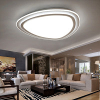 Extremely Light Adjustment LED Ceiling Light Living Room Modern Simple Warm Personality Room Lamp Master