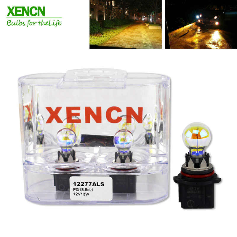 XENCN 12277 PG18.5D-1 P13W 2300K Golden Eyes Super Yellow Light Car Bulbs Germany Quality Fog Halogen Lamp 12V Free Shipping