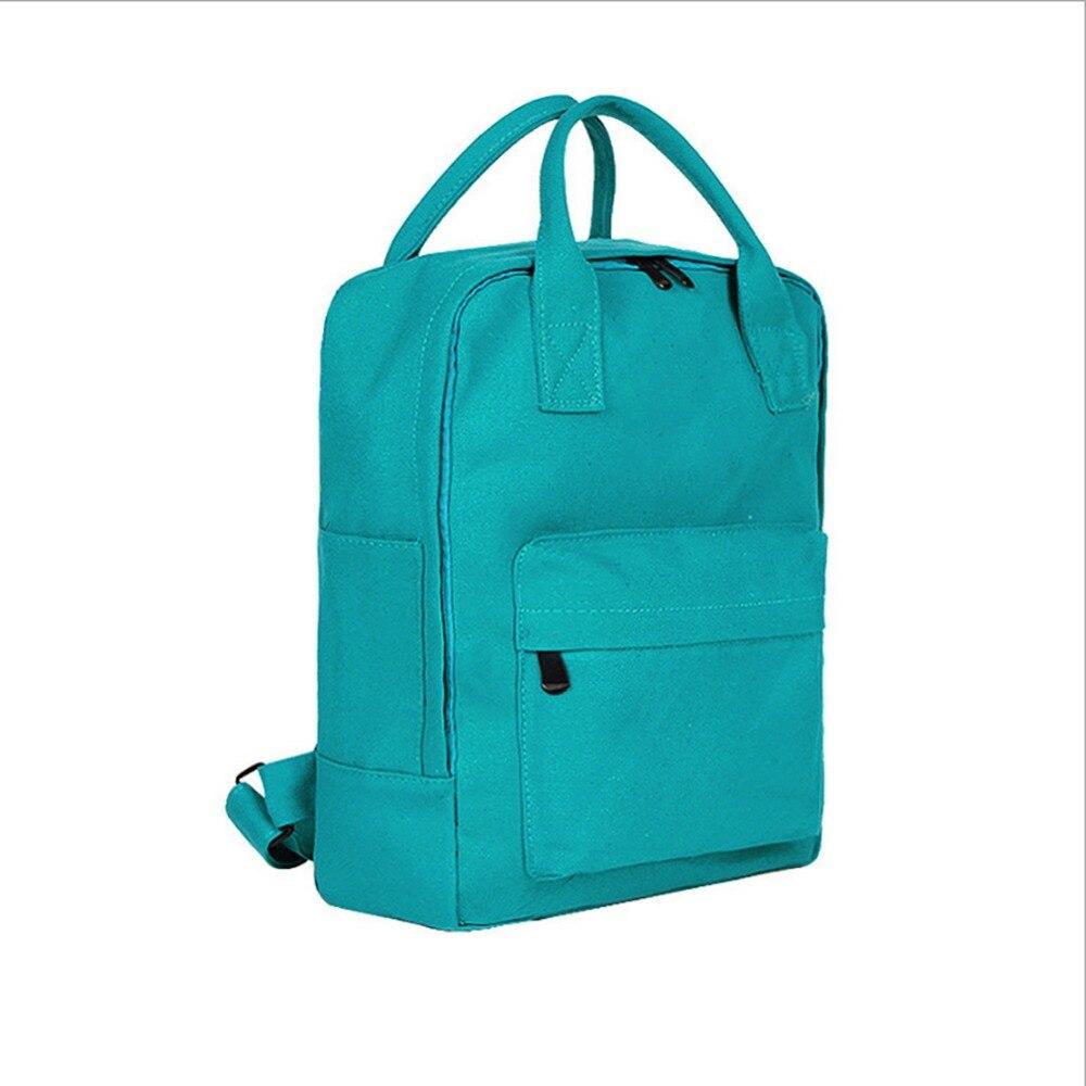 Outdoor School Simple Bag Daypack Canvas Tote Backpack Waterproof Sport Classic Medium Bag