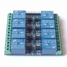 8 Channel Relay Module Optocoupler Isolated Relay 12V 10A Opto Relay Board Expansion Board