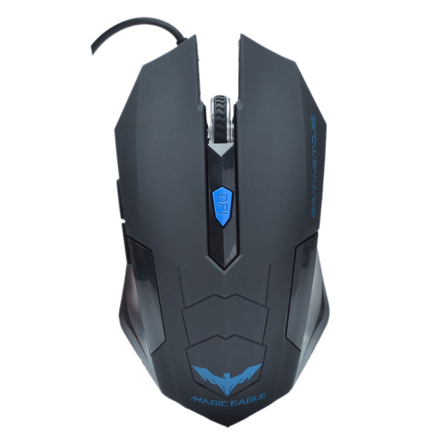 6f5ae5af34d HAVIT HV-MS691 Standard Edition Magic Eagle USB Wired Optical Gaming Mouse  - Black (163cm-Cable)