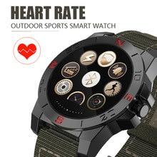 Herren luxus n10 Smart Watch outdoor-sport SmartWatch mit Herzfrequenz-Monitor und kompass wasserdicht wach für iOS und Android