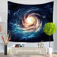 Starry Sky Stars Mandala Tapestry Beach Table Cloth Hippie Blanket Scenery Decoration 150x130cm Tapestry Wall Hanging Tapete