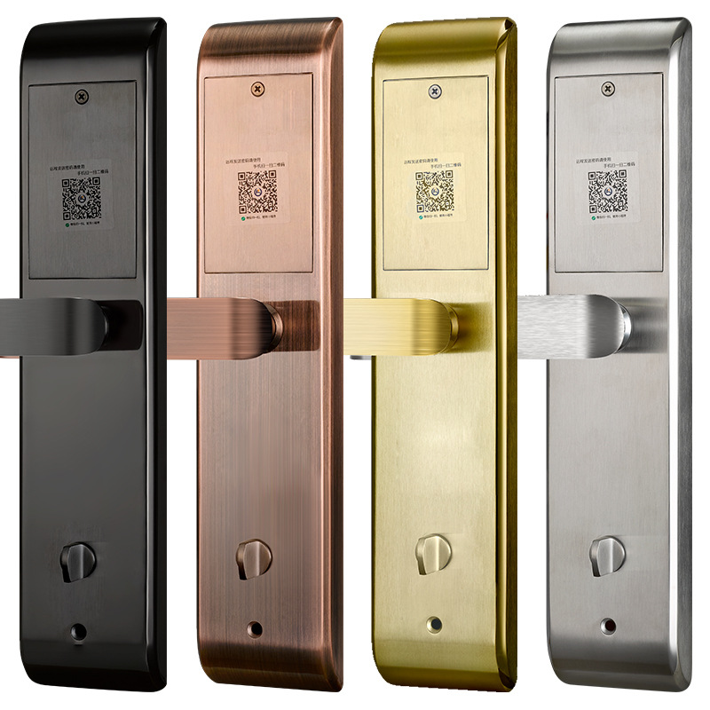 Wifi Smart lock Best Price Code Safety APP Lock Anti thiet Biometric Bluetooth Fingerprint Door Lock in Electric Lock from Security Protection