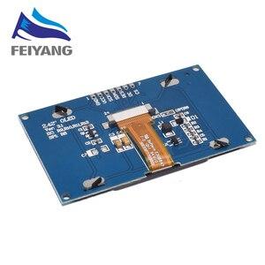 """Image 2 - 2.42 """"2,42 inch LCD Screen Weiß Gelb Grün Blau 128x64 OLED Display Modul IIC I2C SPI Serielle für C51 SPD0301"""