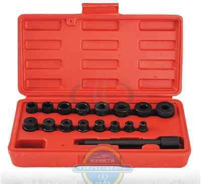 New 17PCS a set Clutch Hole Corrector cluth installation tool Motor repair toolsNew 17PCS a set Clutch Hole Corrector cluth installation tool Motor repair tools