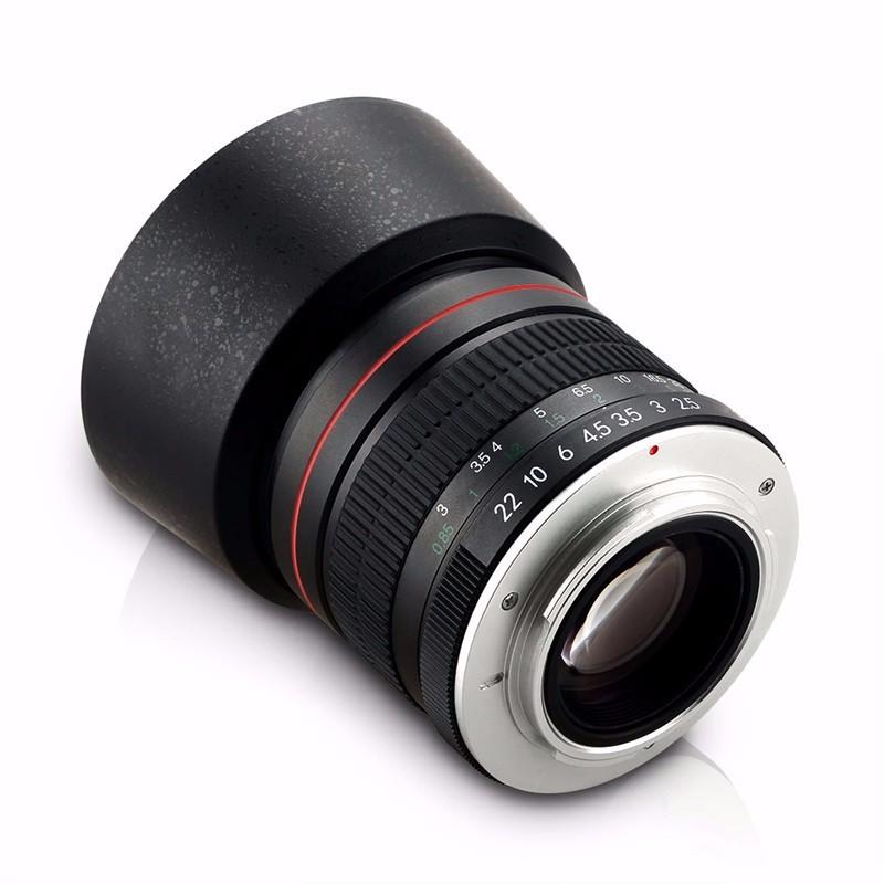 85mm F/1.8 Medium Telephoto Portrait Prime Manual Focus Camera Lens for Canon 10D 760D 700D 600D 70D 60D 7D 6D 5D II III DSLR 5