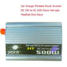 doxin 500w Modified Sine Wave Inversor 24v 220v  Car Power Converter 24V DC To AC 220V  Car Charger  500W Car Styling
