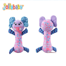 2017 Baby Hand Puppet Fabric Animals Rattle Elephant Frog Lion Donkey Stuffed Plush Toys Children Educational Soft Cotton Toys