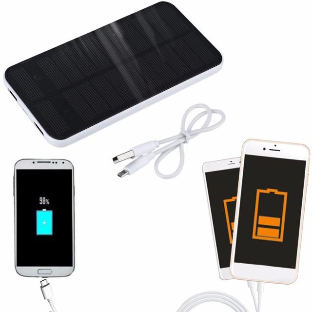 12000 mah Dupla USB Banco de Energia Solar Portátil Titular Suporte Do Telefone Carregador De Bateria de Backup para Todos Os Telefone Celular Melhor Venda 2016