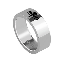 Spectre James Bond Movie 007 Replica Titanium Steel Ring Men Jewelry Size 8-11