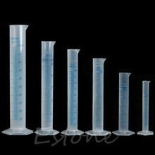 Measuring-Cylinder Plastic Liquid-Tube Graduated-Jar-Tool Test Laboratory Trial New-Fashion