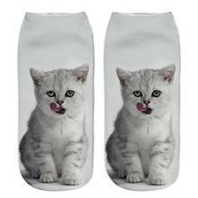 New 3D Women Socks With Cat Art – FREE + Shipping