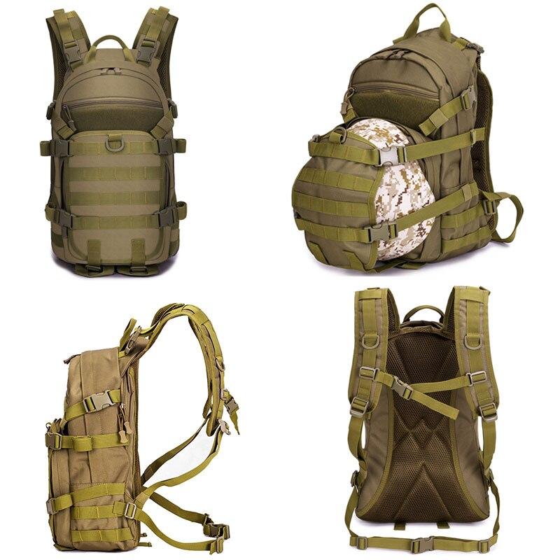 Sac tactique 25L sac à dos militaire Molle hommes sacs de voyage en plein air Fanny chasse Camping sac à dos armée randonnée sac tactique XA107WA - 4