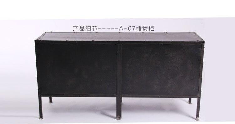 Ikea Credenza Ad Angolo : Nordic ikea ferro credenza cassetti armadio di stoccaggio