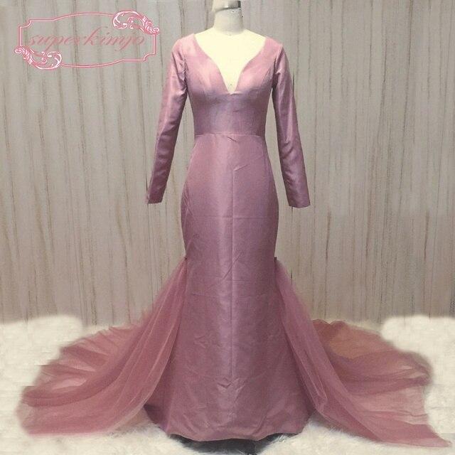 SuperKimJo Detachable Skirt Evening Dresses for Women Arabic Evening ...