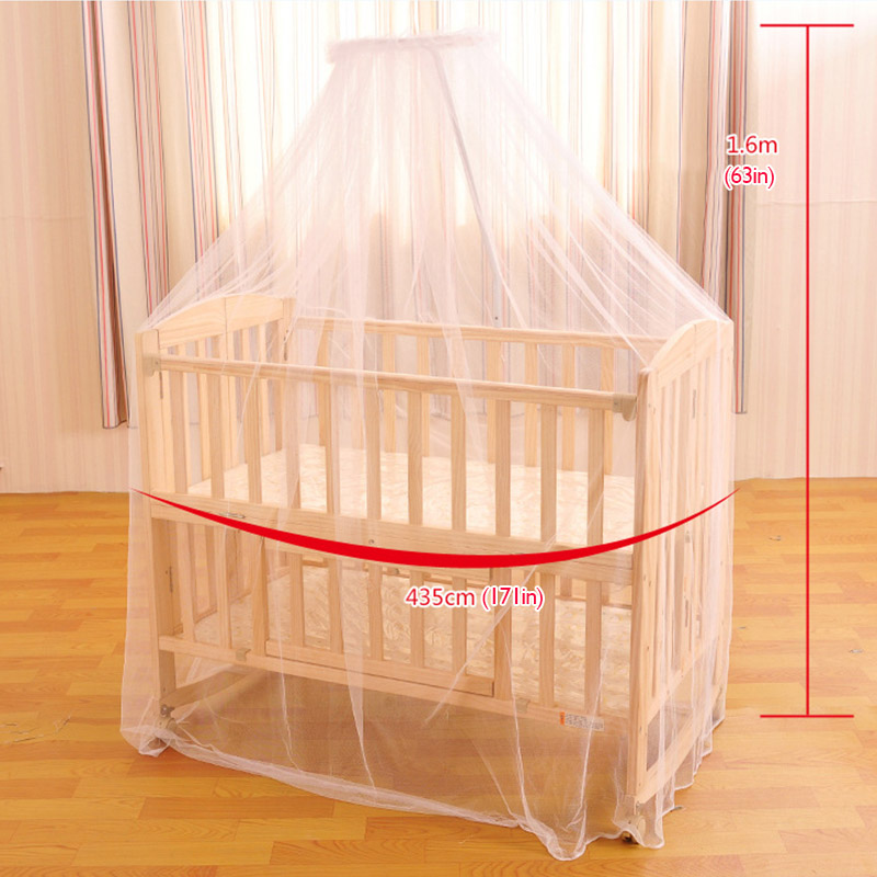 2016 Baby hung home mosquito net white crib bed curtain portable crib tent for baby bed curtains for baby-in Mosquito Net from Home u0026 Garden on ... & 2016 Baby hung home mosquito net white crib bed curtain portable ...