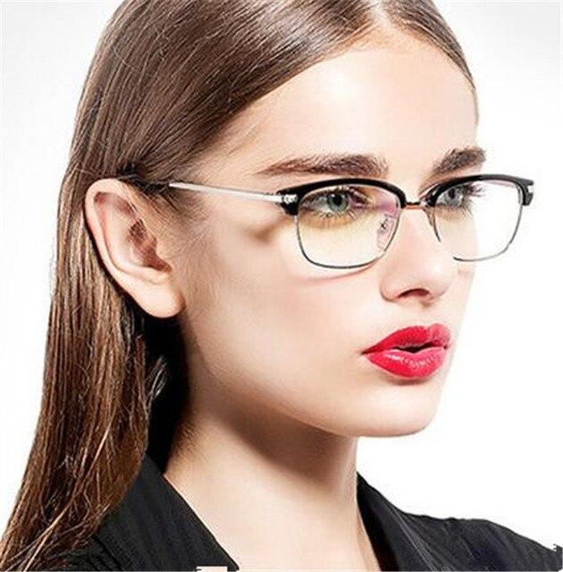 HOT Selling Eyewear frame Glasses Women Brand Designer Glasses Frame Woman Classic Eyeglasses Frames Men oculos de grau feminino