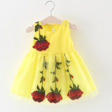 2019 Baby Girl Clothes Multi-style Super Cute Dress Summer Floral Kids Princess Party Tulle Dresses 0-3Y