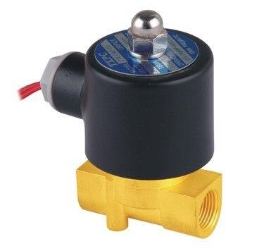 """5 шт. 3/"""" Two Way 2 Позиция клапан соленоидной воды 2W-040-10 AC220V N/C Газ Вода Воздух"""