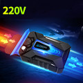 Mini 220V High Speed Fast Cooling Side Exhaust Laptop Cooler Built-in Blue Light Speed Adjustable Radiator for All Notebook