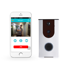 Free Shipping Outdoor Wireless Wifi Doorbell Camera Video Door Phone for Phone Remote View Unlock +Ding Dong Ring doorbell