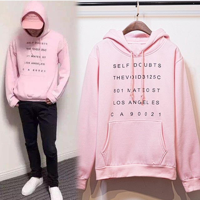 Pink Anti social social club Hoody ASSC purpose tour Hoodies sweatshirts Unisex hot selling