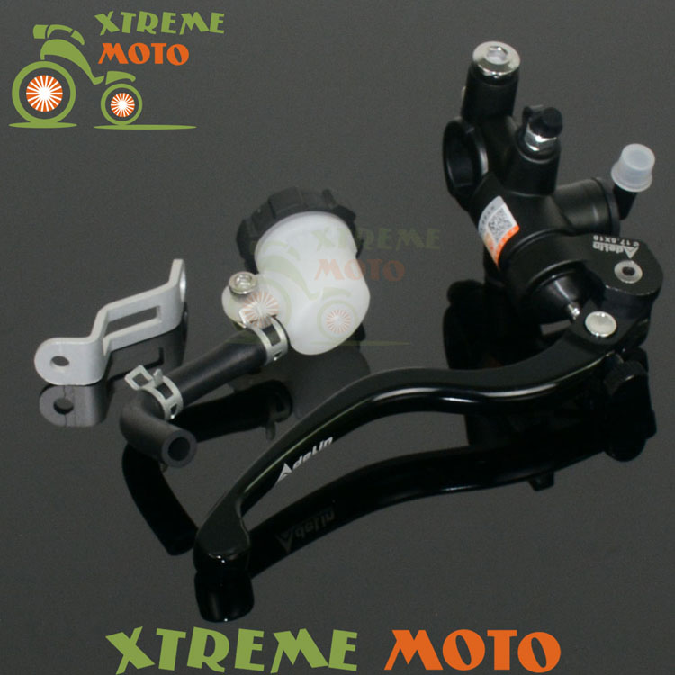 Billet CNC Hydraulic Brake Clutch Lever Master Cylinder For KTM CR CRF XR KX KLX YZF WR RM RMZ RMX DR DRZ Motocross Enduro billet cnc hydraulic brake clutch lever