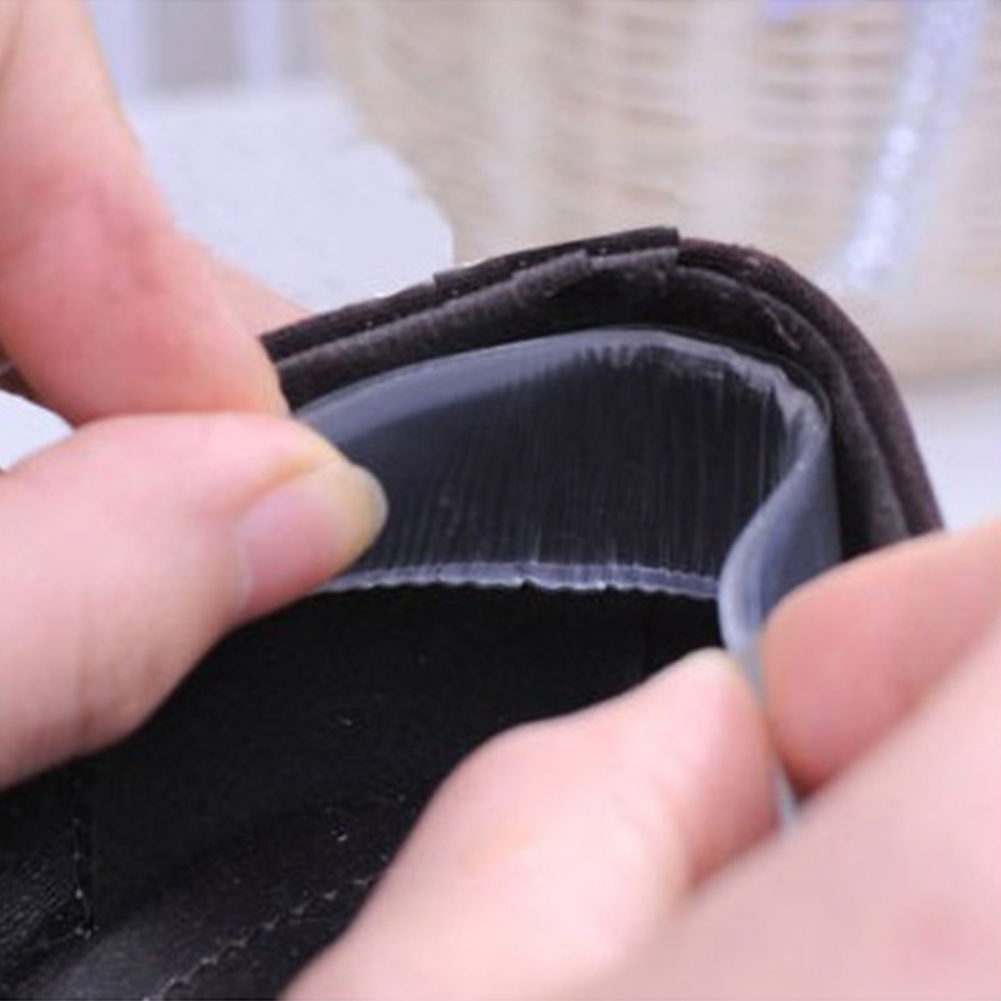 3 Pairs Soft Silicone Insoles For Shoes Anti-wear Heel Protector Heel Pad Cushions Heels Stickers Shoes Accessories #3